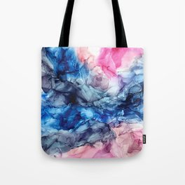 Soul Explosion- vibrant abstract fluid art painting Tote Bag