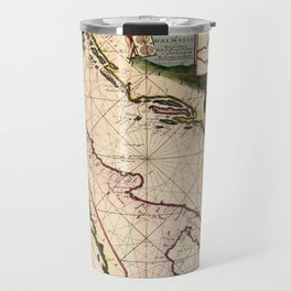Map Of The Adriatic Sea 1700 Travel Mug