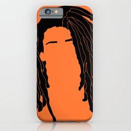 light orange iPhone Case