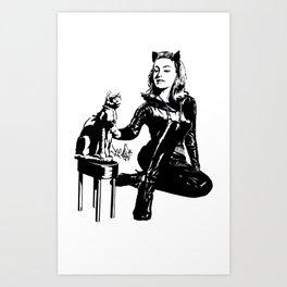 Cat-tastic Art Print