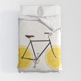 Lemon Bike Comforters