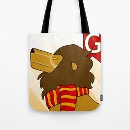 Gryffindor Lion Tote Bag