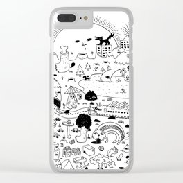 Daydreaming Clear iPhone Case