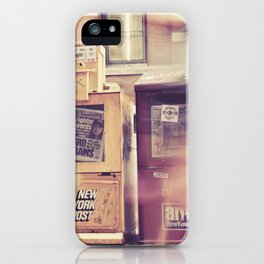 New York Newspapers iPhone Case
