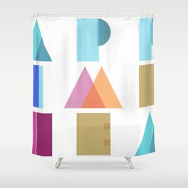 Happy Times Ahead Shower Curtain