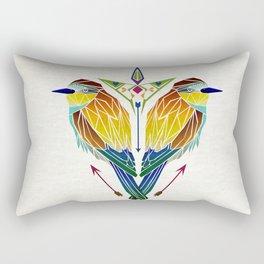 birds love Rectangular Pillow