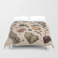 florida Duvet Covers featuring Florida Nature Walks by Jessica Roux