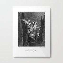 New Terror, Victorian Reproduction,  Metal Print