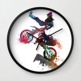 motor sport Wall Clock