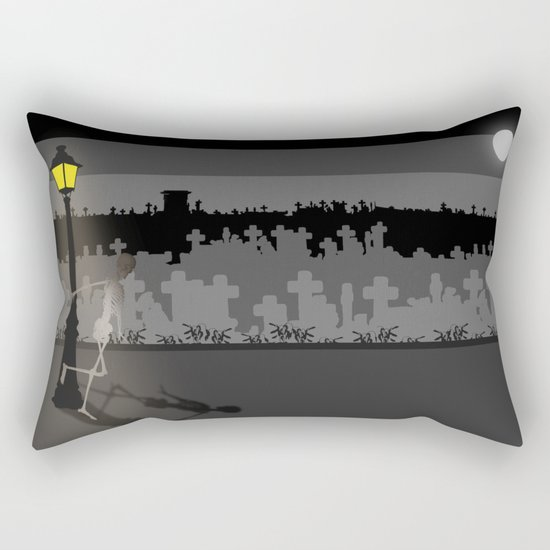 HaPPy CrEEpY HaLLoWeeN! Rectangular Pillow