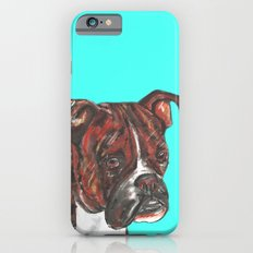 Boxer printed from an original painting by Jiri Bures iPhone 6s Slim Case