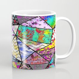 Triangler shaped mix up  Coffee Mug