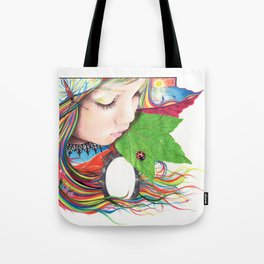 If Mother Earth Was a Child... Tote Bag
