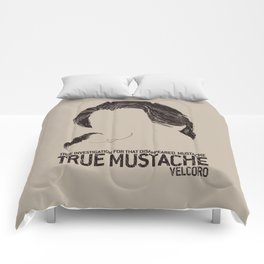 True detective _ Ray Velcoro True Mustache Comforters