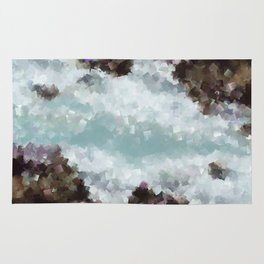 Abstract Shores Rug