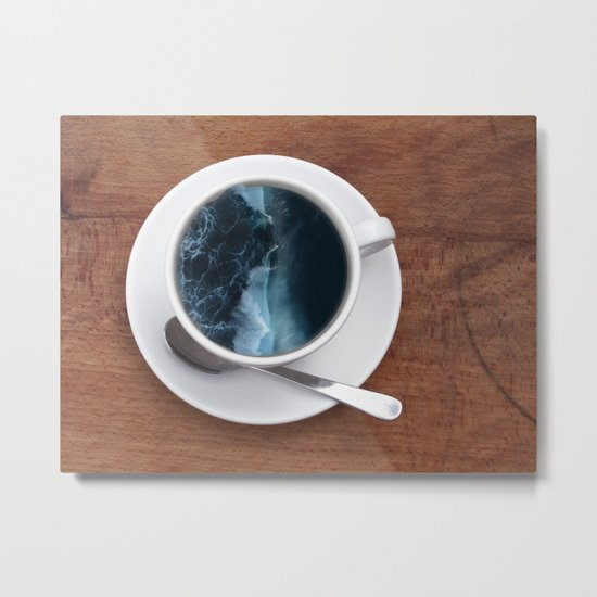 Mourning Morning.  Metal Print