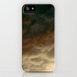 Caught In The Rain iPhone Case