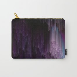 Darkness Glitches Out - Abstract Pixel Art Carry-All Pouch