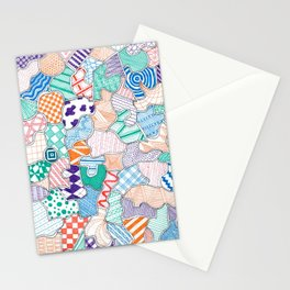 Organized Chaos - 4 Stationery Cards