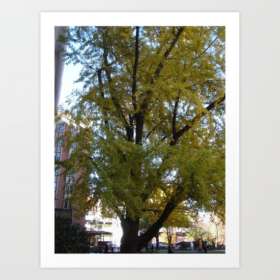 AMAZING TREE Art Print