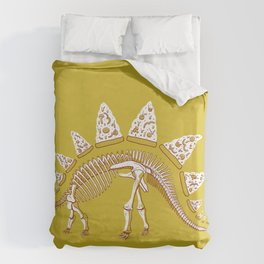 Pizzasaurus Awesome! Duvet Cover
