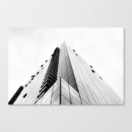 Pyramid of Glass Canvas Print