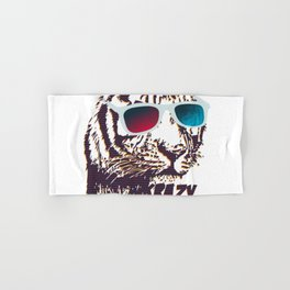 Crazy Tiger Hand & Bath Towel