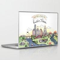 austin Laptop & iPad Skins featuring We Belong in Austin by Brooke Weeber