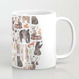 Woodland or Forest Animals! Coffee Mug