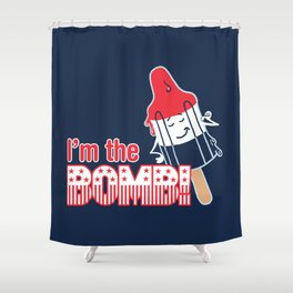 I'm the Bomb Shower Curtain