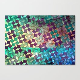 diamonds and dots...not Canvas Print