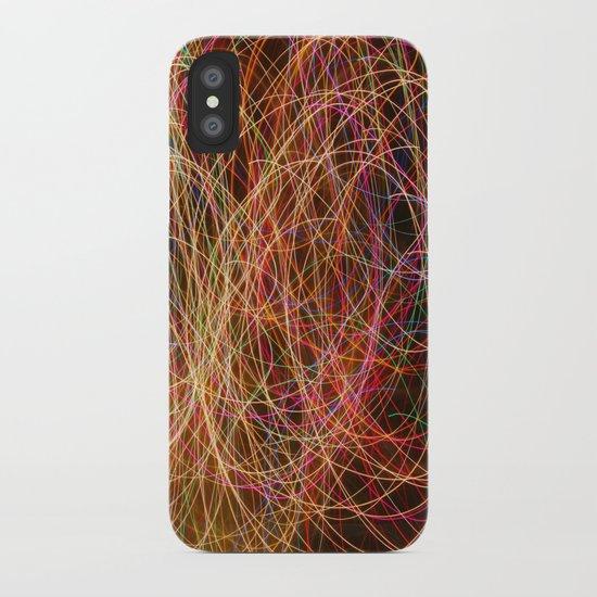 Lightpainting iPhone Case