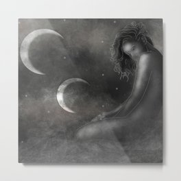 Mother of the Moons Metal Print
