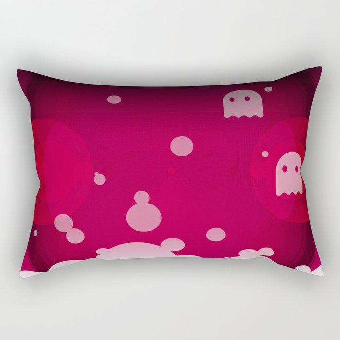 Hell Tale Pink. Rectangular Pillow