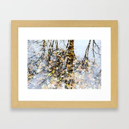 Winter Reflection Framed Art Print