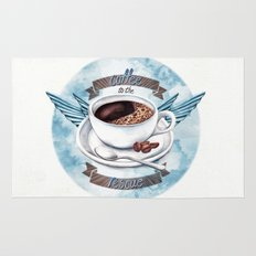Coffee To The Rescue Rug