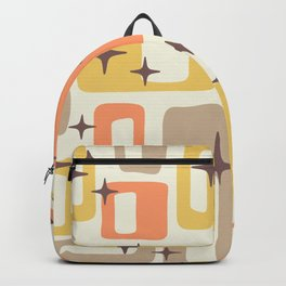 Mid Century Modern Geometric Abstract 133 Backpack
