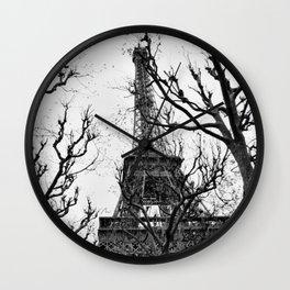Cold Paris Wall Clock