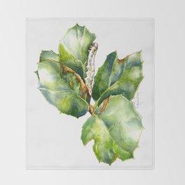 California Oak Moth Caterpillar Throw Blanket