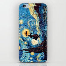 mary poppins Starry Night oil painting iPhone 4 4s 5 5c 6, pillow case, mugs and tshirt iPhone & iPod Skin