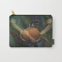 Bird Pumpkin Girl Carry-All Pouch