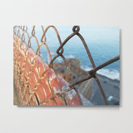 Inside Outside Fort Point Metal Print
