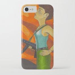 Orange Crush iPhone Case