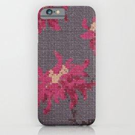 *Cross Stitch* iPhone Case