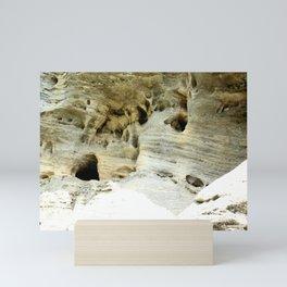 Rock Formation in Kentucky #1 Mini Art Print