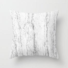 Creamy Waterfall III Throw Pillow