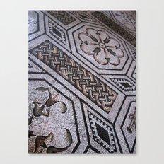 Roman Tiles Canvas Print