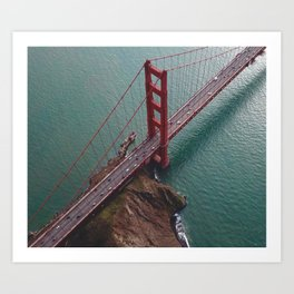 Ever Seen A Picture Of This Bridge Before? Art Print