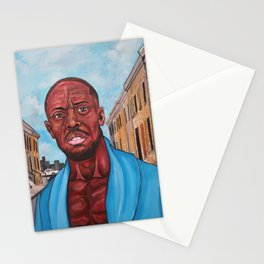 Omar (the Wire) Stationery Cards