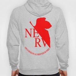 Nerv Logo, Neon Genesis Evangelion Hoody